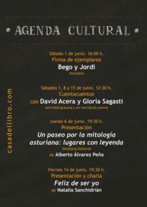 Eventos culturales junio Oviedo