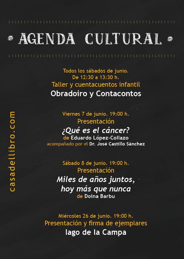 Eventos culturales junio Santiago de Compostela