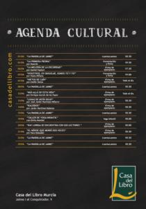 Agenda Cultural Murcia Junio Casa del Libro