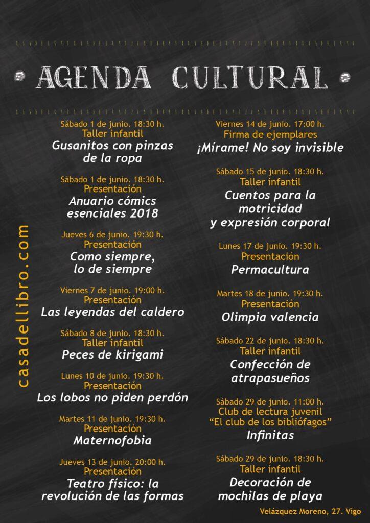 Eventos culturales junio Vigo