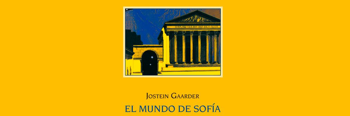 Jostein Gaarder -El mundo de Sofía