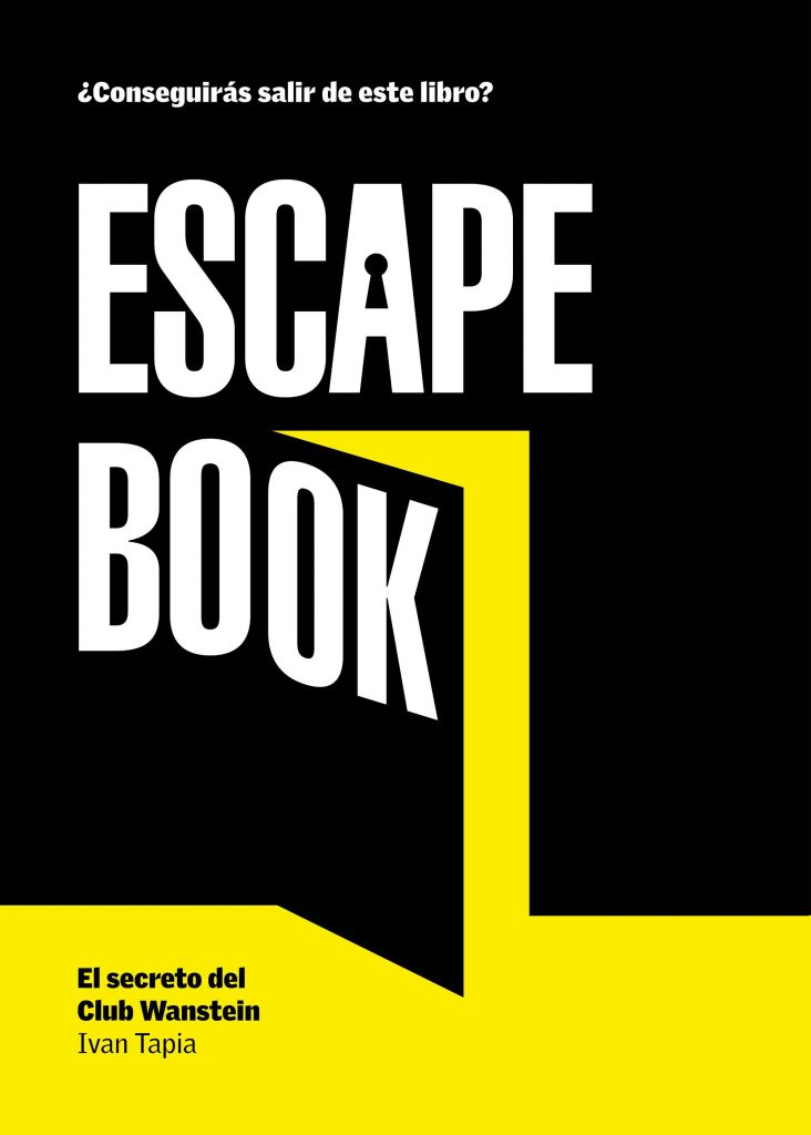 Escape Book, de Iván Tapia