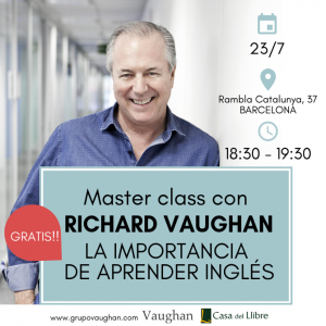 Master class con Richard Vaughan