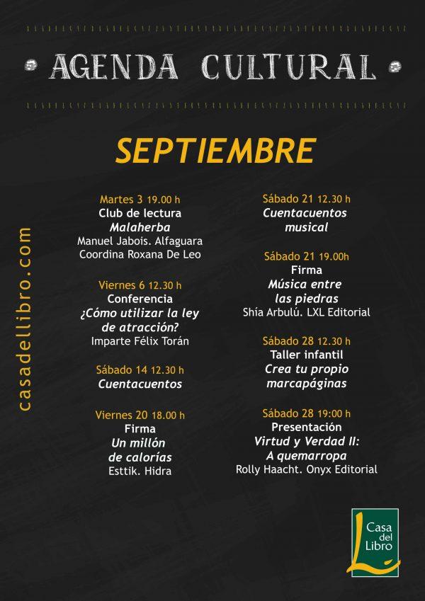 Eventos SEPTIEMBRE 19 Málaga