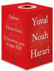 ESTUCHE DE LA TRILOGIA HARARI: SAPIENS / HOMO DEUS / 21 LECCIONES PARA EL SIGLO XXI