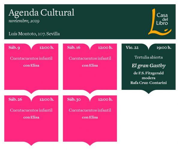 AGENDA-CULTURAL-NOV19--Casa_del_Libro_SEVILLA-Hernando