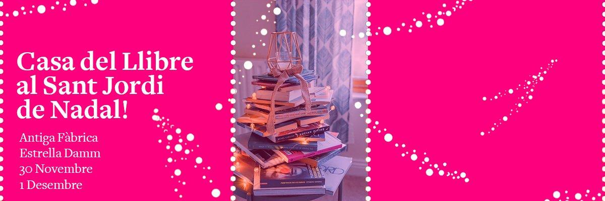 Casa del Llibre al Sant Jordi de Nadal!