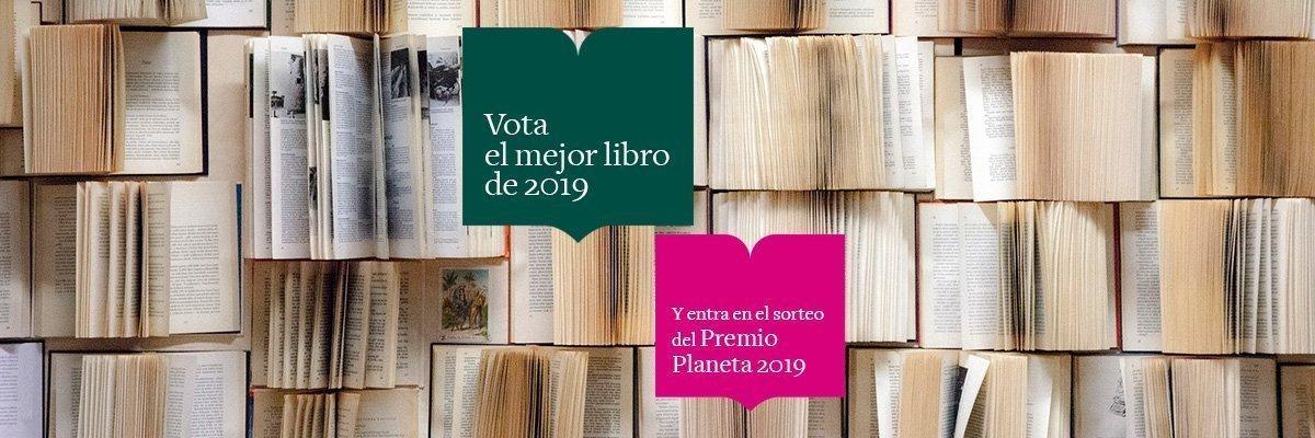 Vota el mejor libro de 2019