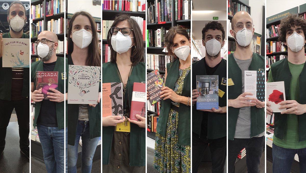 Recomanacions llibres per el Dia del Llibre i la Rosa